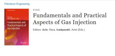 The book Fundamentals and Practical Aspects of Gas Injection from Persian Gulf University was published by Springer